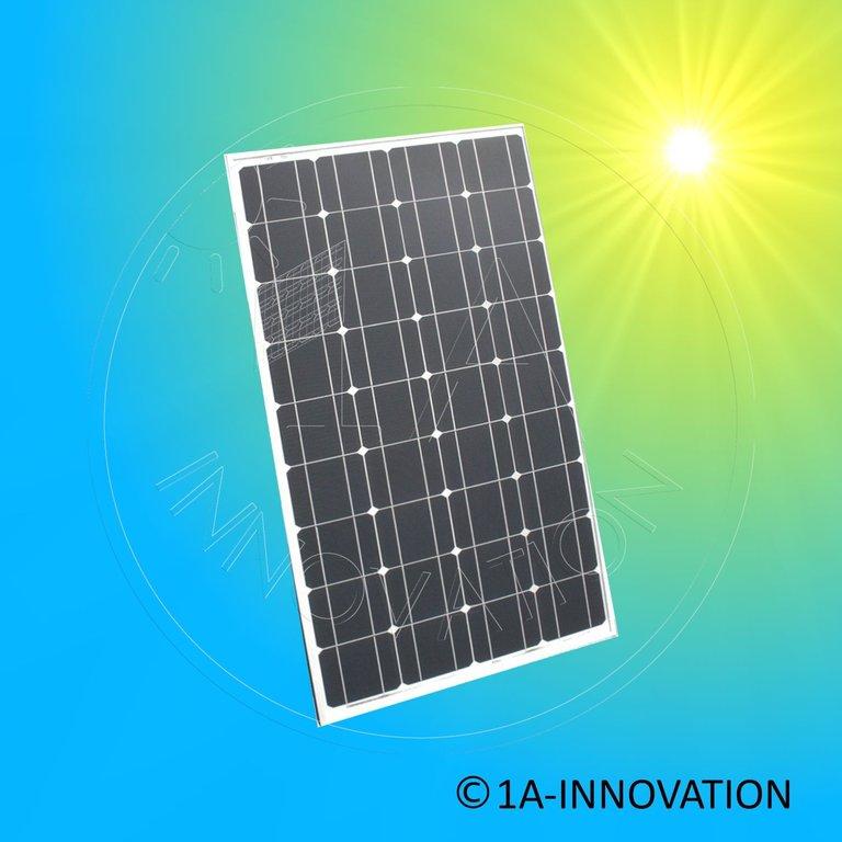 solarmodul 100w monokristallin luxor solo line m36 100w 100 watt. Black Bedroom Furniture Sets. Home Design Ideas