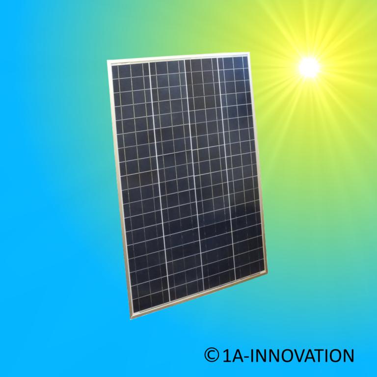 solarmodul 100w polykristallin 100 watt 12 volt 1a innovation. Black Bedroom Furniture Sets. Home Design Ideas