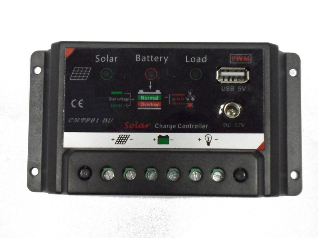 Solar Charge Controller 20A 12V / 24V USB DUO LED