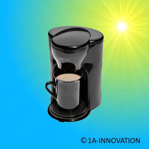 Coffee boiler black (300 Watt)