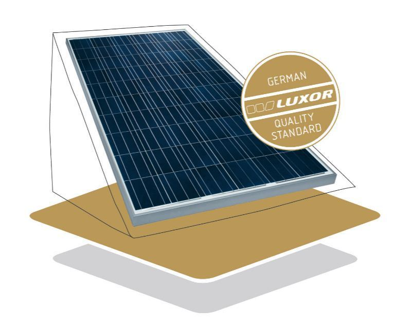 luxor solarmodule 250w secure line p60 250w 250 watt. Black Bedroom Furniture Sets. Home Design Ideas