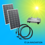 200W solar system for feeding into your own home network single-phase