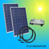 500W solar system for feeding into your own home network single-phase