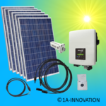 1500W solar system for feeding into your own home network single-phase