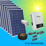 20000W solar system for feeding into network triple-phase