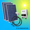 750W solar system for feeding into your own home network single-phase