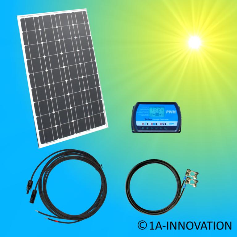 Solar100 1 Komplett 220v Solarspeichersystem 100 Watt Solaranlage