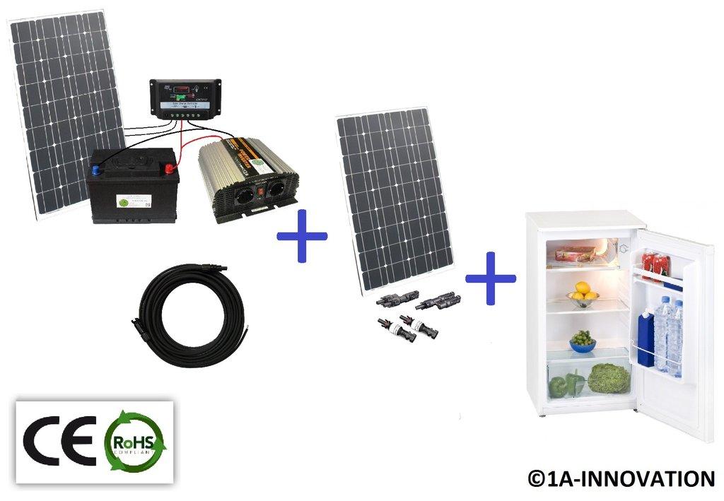 Solar2001C Komplettes 220V Solarspeichersystem mit  ~ Kühlschrank Watt