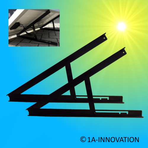 Mounting solar module 5W - 100W infinitely adjustable ModultragAufr mounting roof attachment