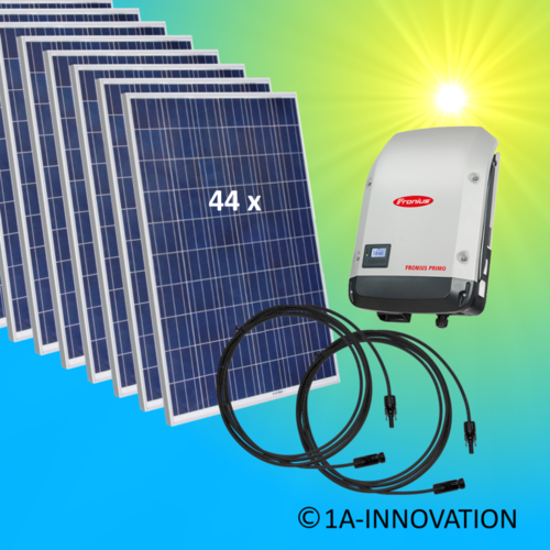12000W solar system for feeding into network triple-phase