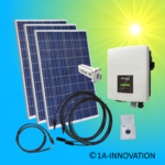 840W solar system for feeding into your own home network single-phase