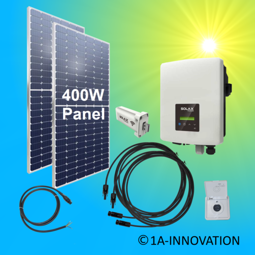 800W solar balcony power plant 0.8 kW single-phase house network supply