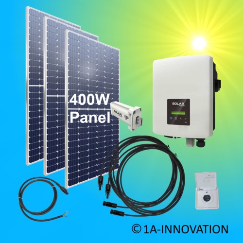 1200W solar balcony power plant 1.2 kW single-phase house network supply