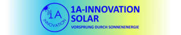 1A-Innovation - 1a-innovation.de - Complete Solarsystems - Solar Energy - Solarprojects